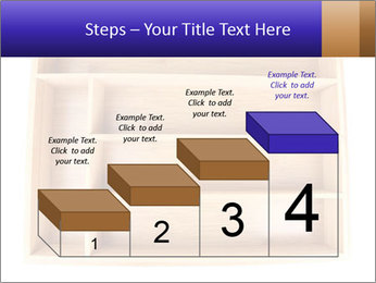 Wooden Book Shelf PowerPoint Templates - Slide 64