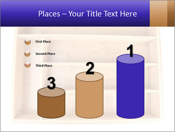 Wooden Book Shelf PowerPoint Templates - Slide 65