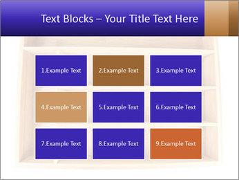 Wooden Book Shelf PowerPoint Template - Slide 68
