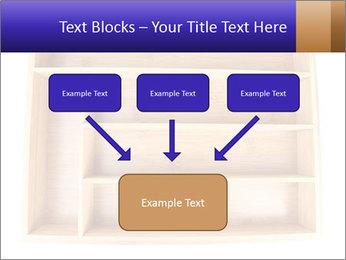 Wooden Book Shelf PowerPoint Template - Slide 70