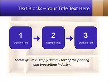 Wooden Book Shelf PowerPoint Template - Slide 71
