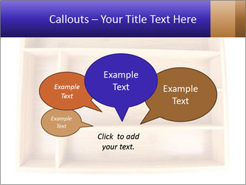 Wooden Book Shelf PowerPoint Template - Slide 73