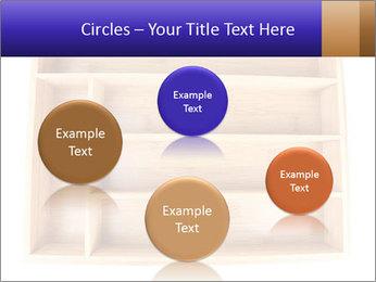 Wooden Book Shelf PowerPoint Template - Slide 77