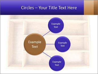 Wooden Book Shelf PowerPoint Template - Slide 79