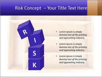 Wooden Book Shelf PowerPoint Template - Slide 81