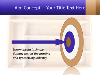 Wooden Book Shelf PowerPoint Templates - Slide 83