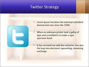 Wooden Book Shelf PowerPoint Template - Slide 9