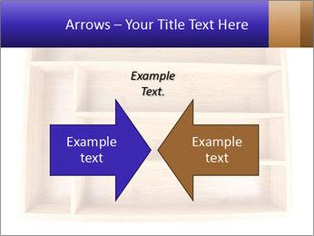 Wooden Book Shelf PowerPoint Template - Slide 90