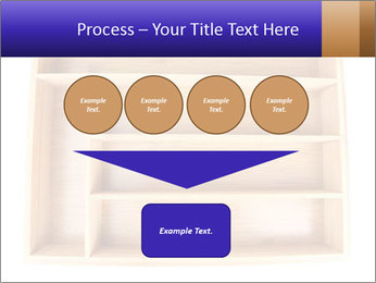 Wooden Book Shelf PowerPoint Template - Slide 93