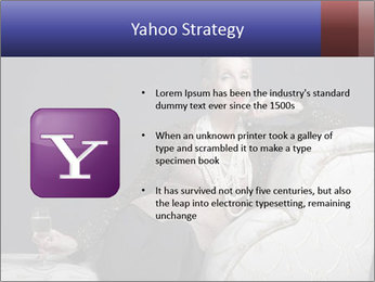 Elegant Old Lady PowerPoint Template - Slide 11