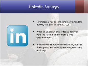 Elegant Old Lady PowerPoint Template - Slide 12