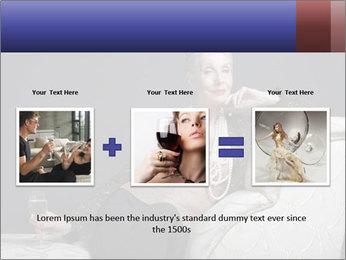 Elegant Old Lady PowerPoint Template - Slide 22