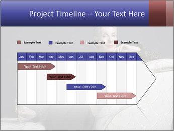 Elegant Old Lady PowerPoint Template - Slide 25