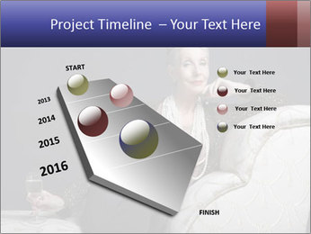 Elegant Old Lady PowerPoint Template - Slide 26