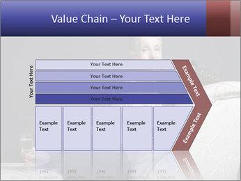 Elegant Old Lady PowerPoint Template - Slide 27