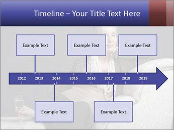 Elegant Old Lady PowerPoint Template - Slide 28