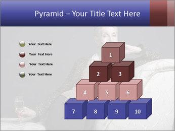 Elegant Old Lady PowerPoint Template - Slide 31