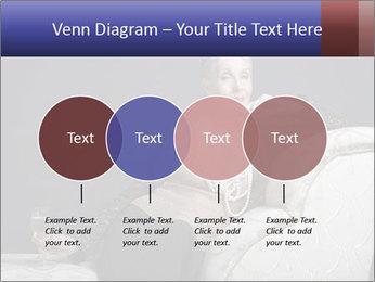 Elegant Old Lady PowerPoint Template - Slide 32