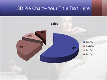 Elegant Old Lady PowerPoint Template - Slide 35