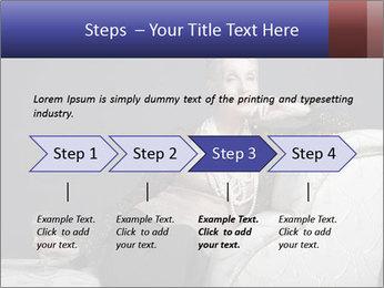 Elegant Old Lady PowerPoint Template - Slide 4