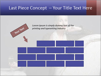 Elegant Old Lady PowerPoint Template - Slide 46