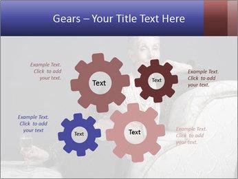 Elegant Old Lady PowerPoint Template - Slide 47
