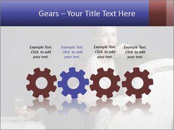 Elegant Old Lady PowerPoint Template - Slide 48