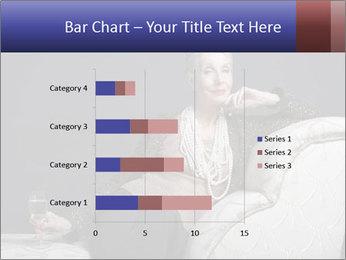 Elegant Old Lady PowerPoint Template - Slide 52