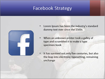 Elegant Old Lady PowerPoint Template - Slide 6