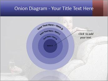 Elegant Old Lady PowerPoint Template - Slide 61