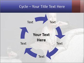 Elegant Old Lady PowerPoint Template - Slide 62