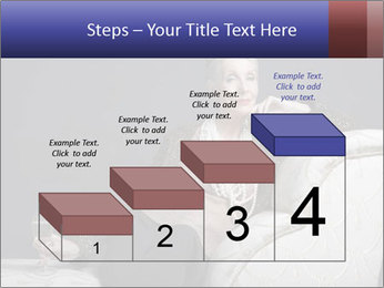 Elegant Old Lady PowerPoint Template - Slide 64