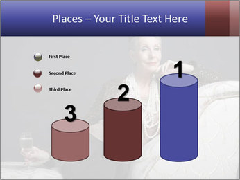 Elegant Old Lady PowerPoint Template - Slide 65