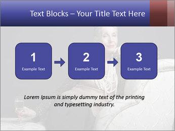 Elegant Old Lady PowerPoint Template - Slide 71