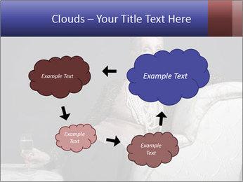 Elegant Old Lady PowerPoint Template - Slide 72