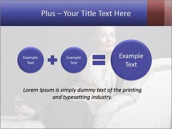 Elegant Old Lady PowerPoint Template - Slide 75