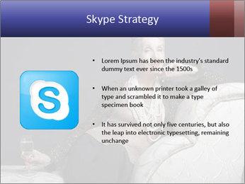 Elegant Old Lady PowerPoint Template - Slide 8