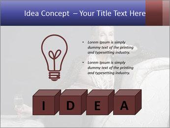 Elegant Old Lady PowerPoint Template - Slide 80