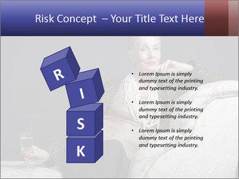 Elegant Old Lady PowerPoint Template - Slide 81