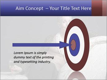 Elegant Old Lady PowerPoint Template - Slide 83