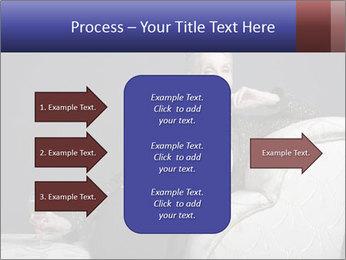 Elegant Old Lady PowerPoint Template - Slide 85