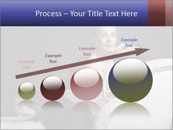 Elegant Old Lady PowerPoint Template - Slide 87