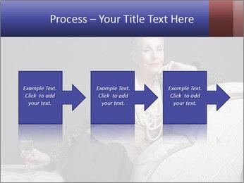 Elegant Old Lady PowerPoint Template - Slide 88