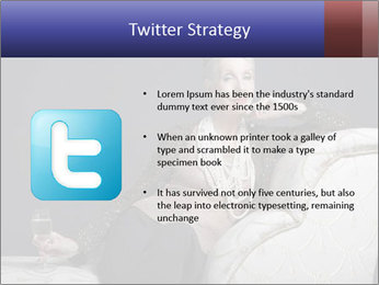 Elegant Old Lady PowerPoint Template - Slide 9
