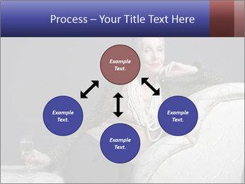 Elegant Old Lady PowerPoint Template - Slide 91