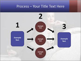 Elegant Old Lady PowerPoint Template - Slide 92