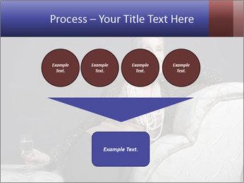 Elegant Old Lady PowerPoint Template - Slide 93