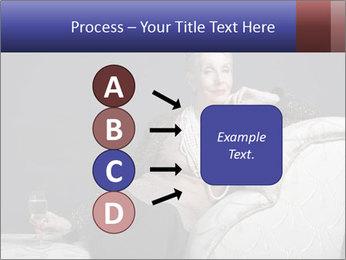 Elegant Old Lady PowerPoint Template - Slide 94