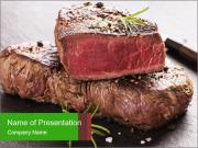 Porterhouse Steak PowerPoint Templates
