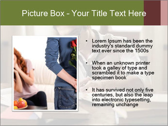 Concentrated Man PowerPoint Template - Slide 13